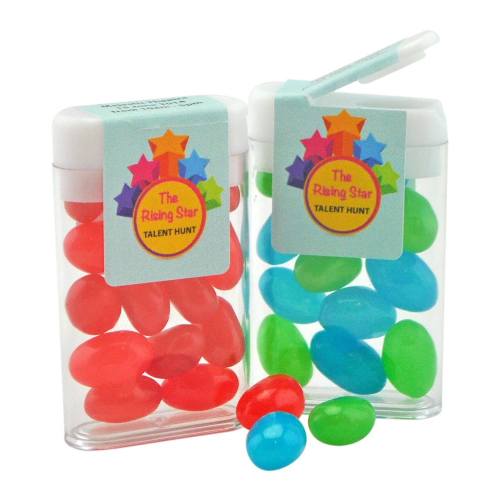 Flip Top Container _ Mini Jelly Beans