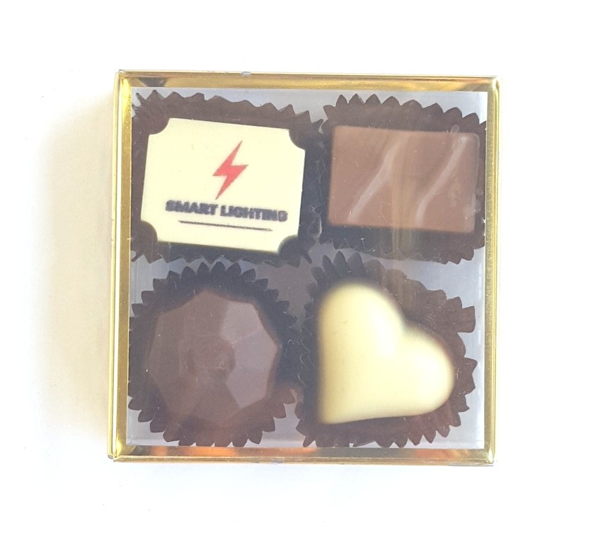 Premium Belgian Chocolate -4pc Gold Box
