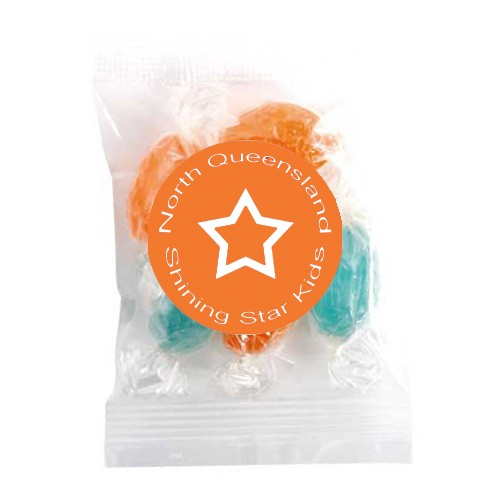 Medium Confectionery Bag - Acid Drops (Corporate Colour)