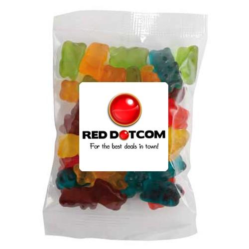 Large Confectionery Bag - Gummy Bear Bag