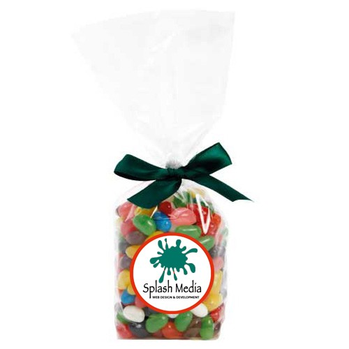 Mug-Drop Bags with Mixed Jelly Beans