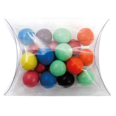Clear Pillow Box with Mixed Chocolate Balls