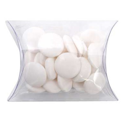 Clear Pillow Box with Flat Mints