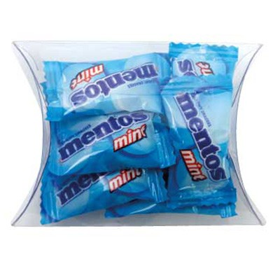 Clear Pillow Box with Mentos