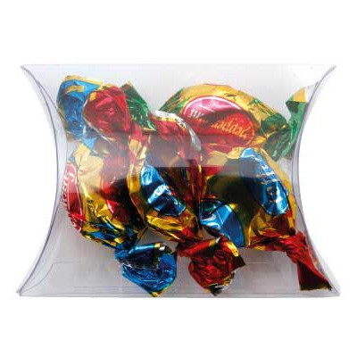 Clear Pillow Box with Toffees