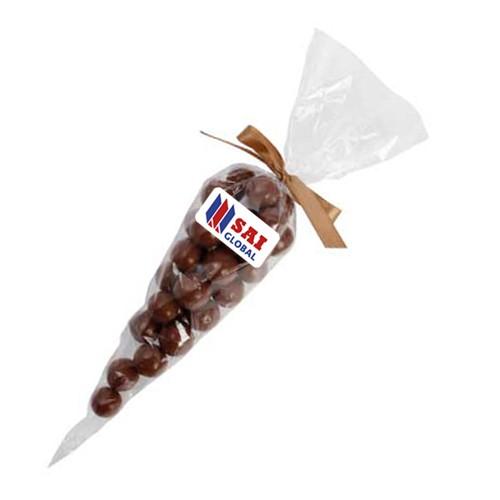 Confectionery Cones with Malt Balls