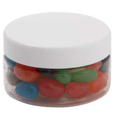 Small Plastic Jar with Mixed Mini Jelly Beans
