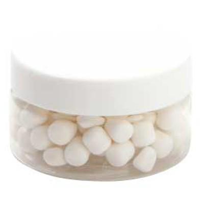 Small Plastic Jar with Mini Mints