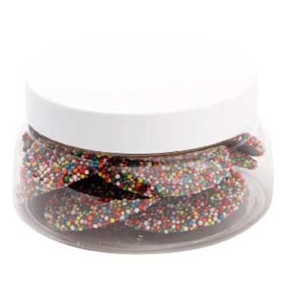 Large Plastic Jar with Freckles