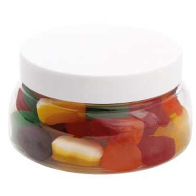 Large Plastic Jar with Mixed Lollies