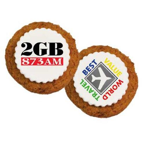 Printed Anzac Cookies with custom printed fondant