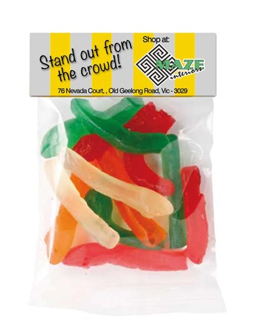 Gummy Snake Header Bag