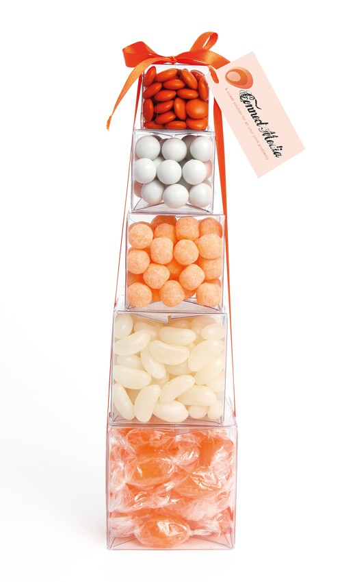 Large Confectionery Tower (Note:Large jelly beans are been replaced with Mini jelly beans)