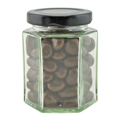 Large Hexagon Jar with Choc Sultanas