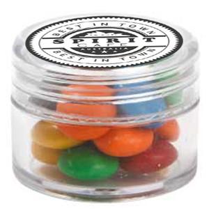 Mini Plastic Jar with M&Ms