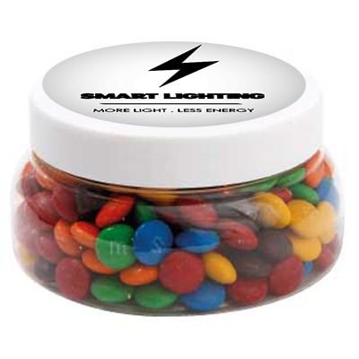 Large Plastic Jar with M&M's