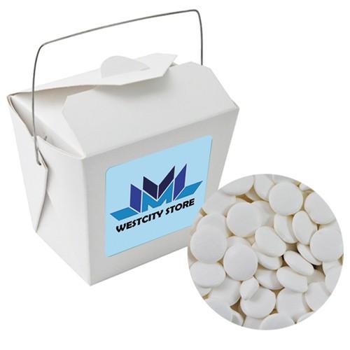 Paper Noodle Box with Flat Mints