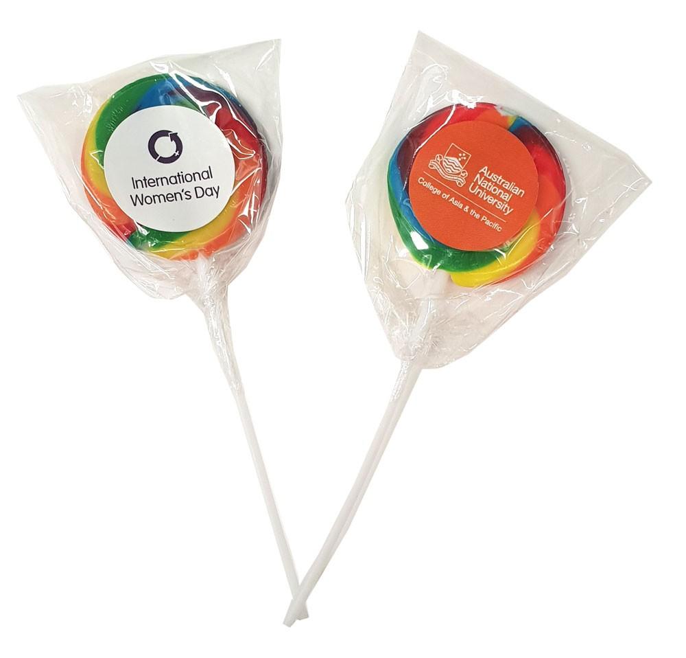 Branded Rainbow Lollipops (NEW)