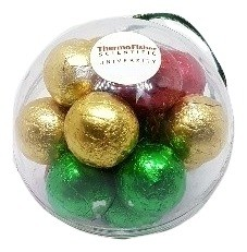 Christmas Ornaments with Chocolate Baubles