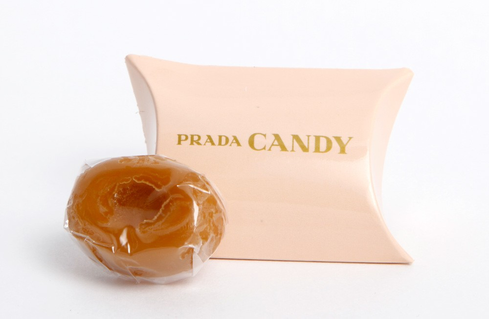Custom Printed Mini Pillow Box with Werthers Candy