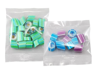 Custom Colour and Flavour Rock Candy in a Clear Bag-20 gram