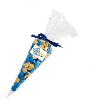 Confectionery Cones with Chocolate Gems (Corporate Colour)