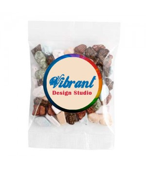 Medium Confectionery Bag - Chocolate Rocks