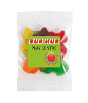 Medium Confectionery Bag - Fruity Frogs