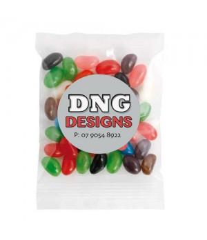 Medium Confectionery Bag - Mixed Mini Jelly Beans