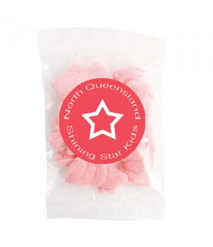 Medium Confectionery Bag - Pink Pigs