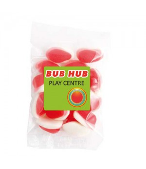 Medium Confectionery Bag - Strawberries & Cream