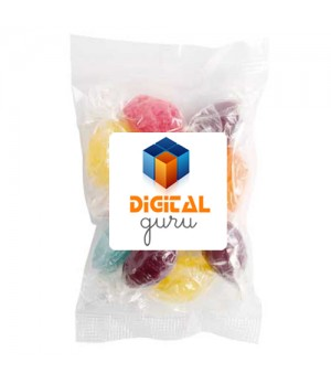 Large Confectionery Bag - Mixed Acid Drop Bag