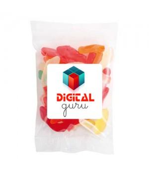 Large Confectionery Bag - Gummy Snake Bag