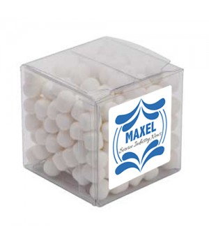 Big Clear Cube with Mini Mints