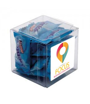 Big Clear Cube with Mentos