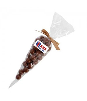 Confectionery Cones with Malt Balls