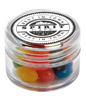 Mini Plastic Jar with Mixed Mini Jelly Beans