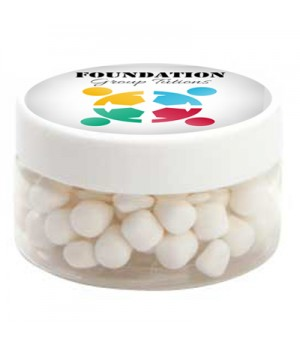 Small Plastic Jar with Mini Mints