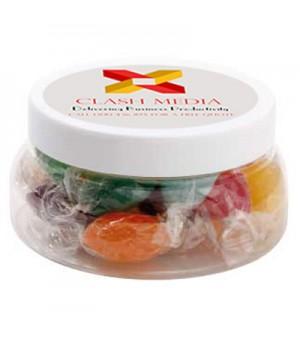 Large Plastic Jar with Mixed Acid Drops