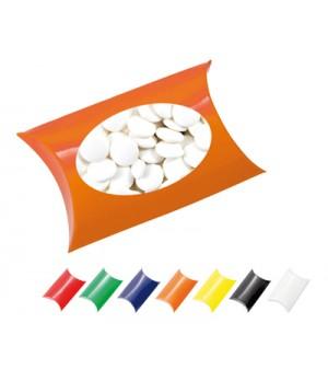 Window Pillow Box with Flat Mints