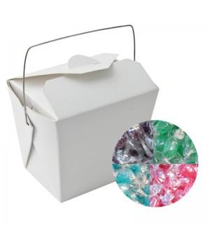 Paper Noodle Box with Acid Drops (Corporate Colour)