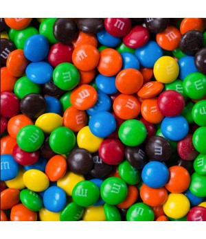 Custom Printed Confectionery Card with M&M's