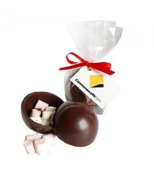 3D Hot Chocolate Ball filled with Mini Marshmallows
