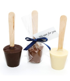 Hot Chocolate Spoon with Swing Tag