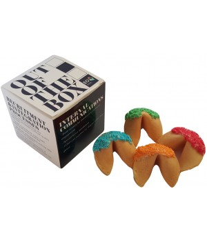 Custom Printed Paper Noodle Box or Cubes Boxes with Fortune Cookies