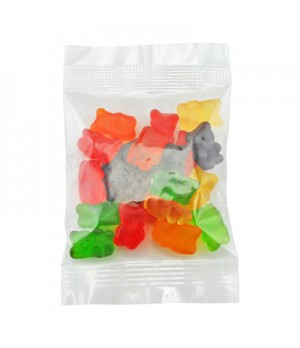 Assorted Mix Gummy bears- colour variation can occur.