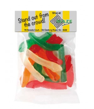 Gummy Snake Header Bag