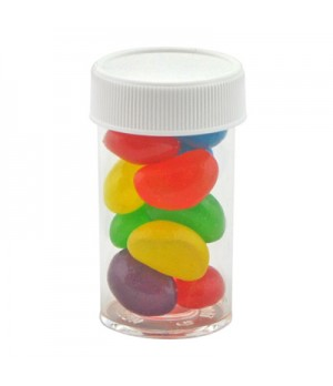 Small Pill bottle with Mini Jelly Beans-mixed