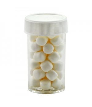 Small Pill bottle with Mini Mints