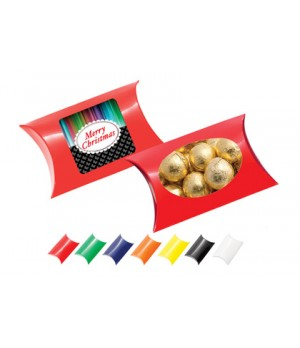 Window Pillow Box with Chocolate Baubles